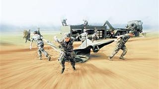 空军:跨区实战化考核