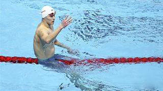 孙杨400米自由泳四连冠