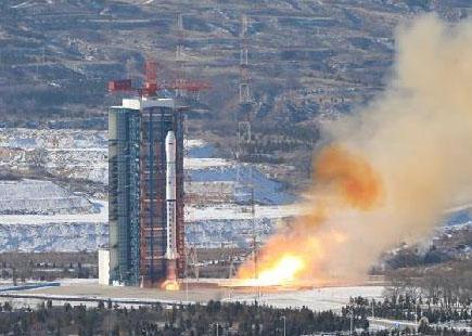 中国成功发射一箭九星
