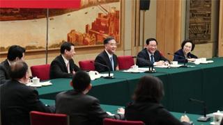 上海代表团举行全团会议