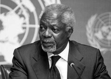 联合国前秘书长科菲安南去世