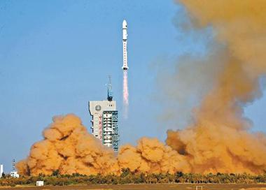 酒泉卫星发射中心成功发射试验六号02星