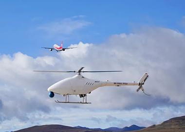 国产无人直升机AR-500C首次高原试飞成功