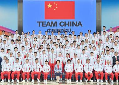 777人 中国境外参加奥运会规模最大一次